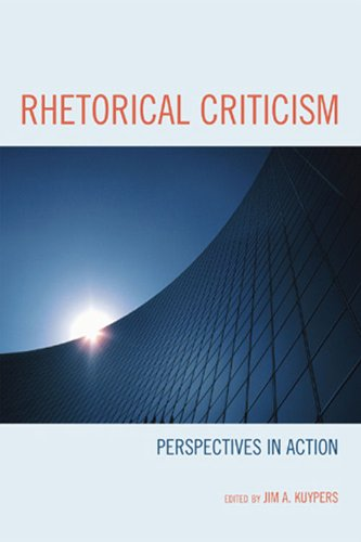 Rhetorical Criticism Perspectives in Action  2009 edition cover