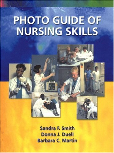 Photo Guide of Nursing Skills   2002 edition cover