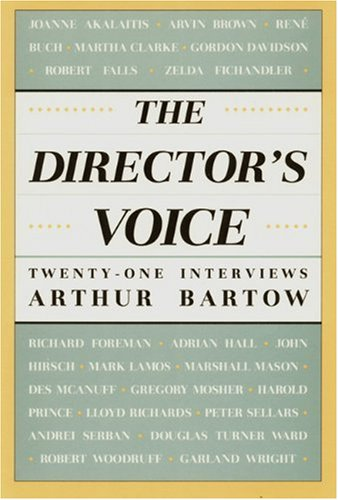 Director's Voice Twenty-One Interviews Reprint  edition cover