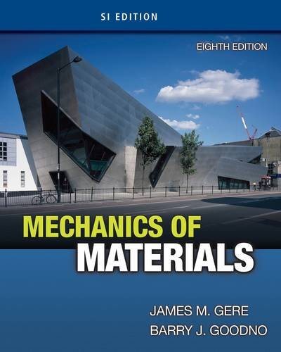 Mechanics of Materials, SI Edition  8th 2013 edition cover