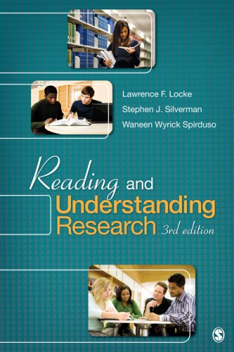 Reading and Understanding Research  3rd 2010 9781412975742 Front Cover