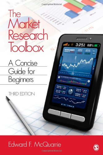 Market Research Toolbox A Concise Guide for Beginners 3rd 2012 edition cover
