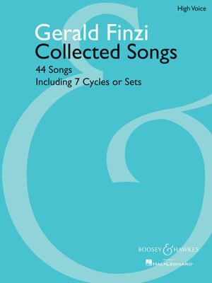 Collected Songs 44 Songs Including 7 Cycles or Sets N/A edition cover