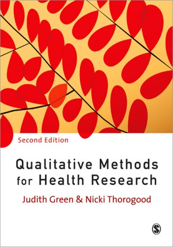 Qualitative Methods for Health Research  2nd 2009 edition cover