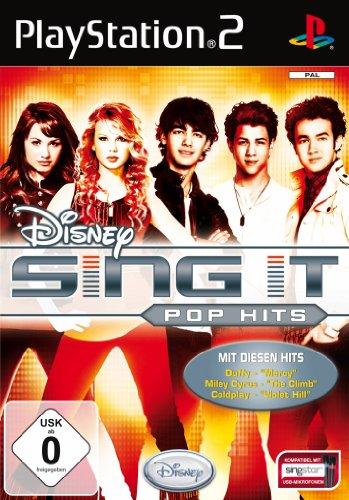Disney Sing It - Pop Hits [Software Pyramide] PlayStation2 artwork