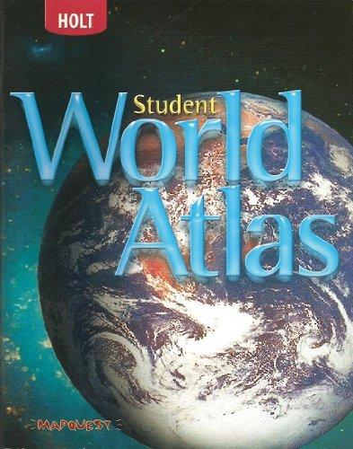 Student World Atlas, Grades 6-8 World History Full Survey: Holt Mcdougal World Regions  2007 9780030797743 Front Cover