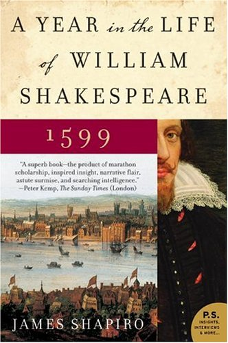 Year in the Life of William Shakespeare 1599  N/A edition cover