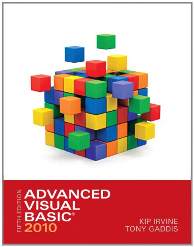 Advanced Visual Basic 2010  5th 2012 (Revised) edition cover