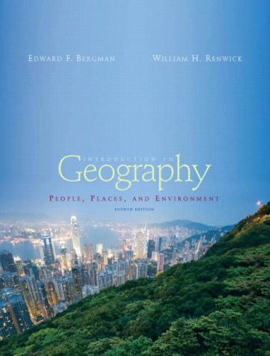 Introduction to Geography: People, Places and Environment + Ph World Regional Geography Videos on Dvd 4th 2007 9780135133743 Front Cover