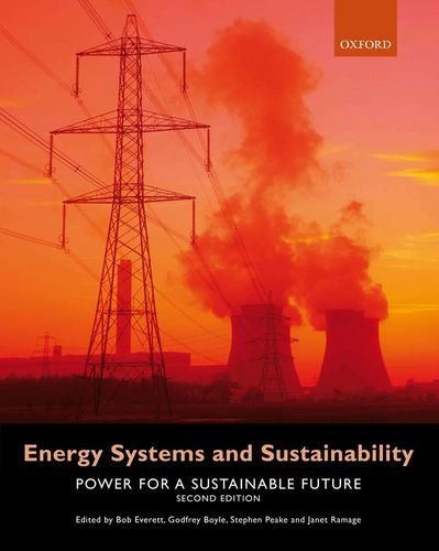 Energy Systems and Sustainability Power for a Sustainable Future 2nd 2011 edition cover