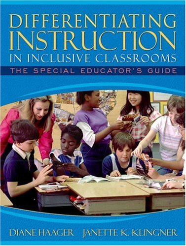 Differentiating Instruction in Inclusive Classrooms The Special Educator's Guide  2005 edition cover