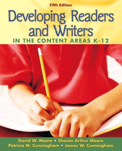 Developing Readers and Writers In the Content AreaS 5th 2007 edition cover