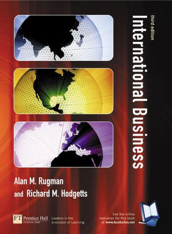 International Business  3rd 2003 (Revised) 9780273673743 Front Cover