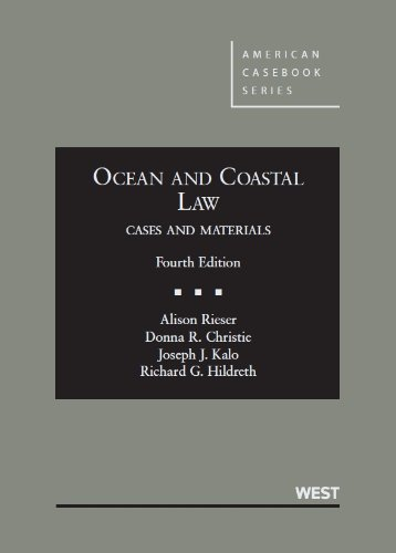 Ocean and Coastal Law:   2013 edition cover