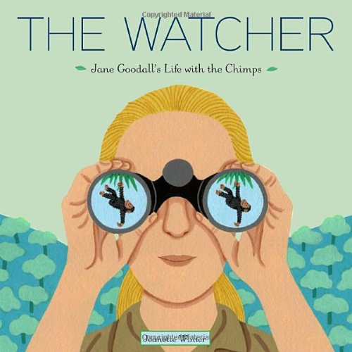 Watcher Jane Goodall's Life with the Chimps  2011 edition cover