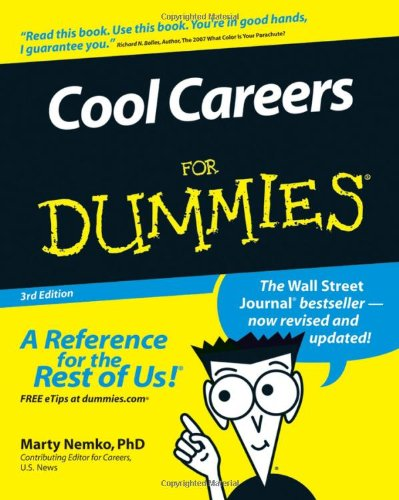 Cool Careers for Dummies�  3rd 2007 (Revised) edition cover