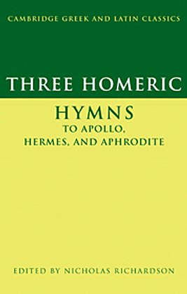 Three Homeric Hymns to Apollo, Hermes and Aphrodite   2009 edition cover