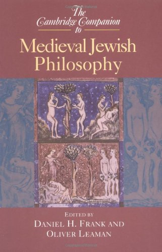 Cambridge Companion to Medieval Jewish Philosophy   2003 edition cover