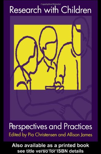 Research with Children Perspectives and Practices  2000 9780750709743 Front Cover