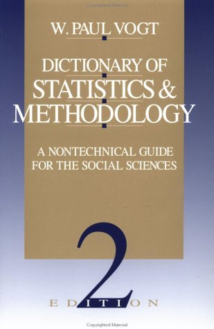Dictionary of Statistics and Methodology A Nontechnical Guide for the Social Sciences 2nd 1998 edition cover