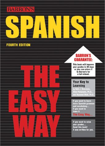 Spanish the Easy Way  4th 2003 edition cover