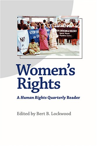 Women's Rights A Human Rights Quarterly Reader  2006 edition cover