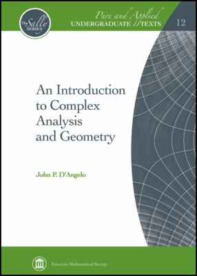 Introduction to Complex Analysis and Geometry   2011 edition cover