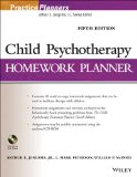 Child Psychotherapy Homework Planner  5th 2014 edition cover