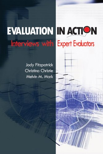 Evaluation in Action Interviews with Expert Evaluators  2009 edition cover