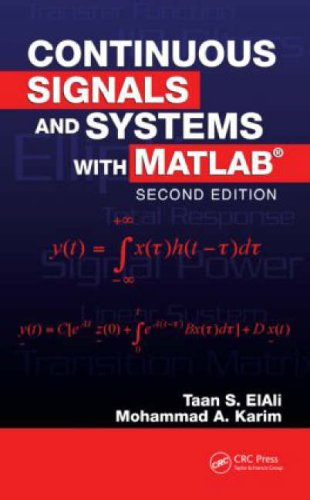 Continuous Signals and Systems with MATLAB  2nd 2008 (Revised) edition cover