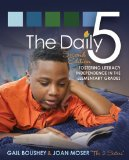 Daily Five Fostering Literacy Independence in the Elementary Grades 2nd 2014 9781571109743 Front Cover