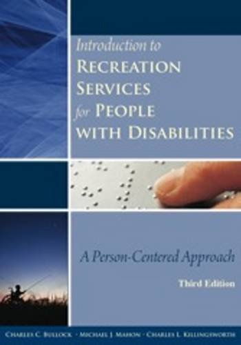 Introduction to Recreation Services for People with Disabilities A Person-Centered Approach 3rd 2010 edition cover