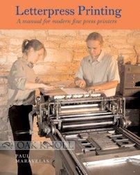 Letterpress Printing A Manual for Modern Fine Press Printers  2005 edition cover