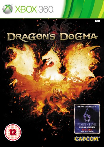 Dragon's Dogma (Xbox 360) by Capcom Xbox 360 artwork