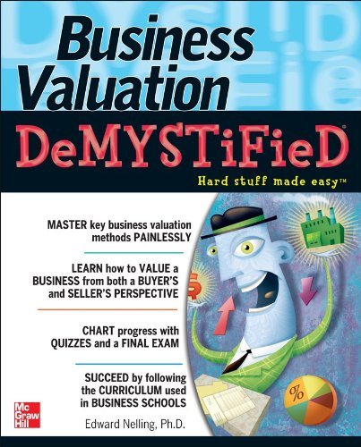 Business Valuation Demystified   2011 edition cover