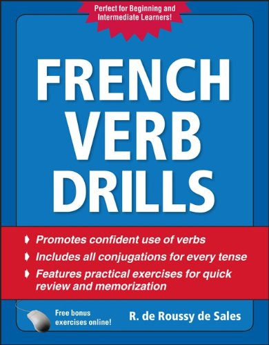 French Verb Drills  4th 2011 edition cover