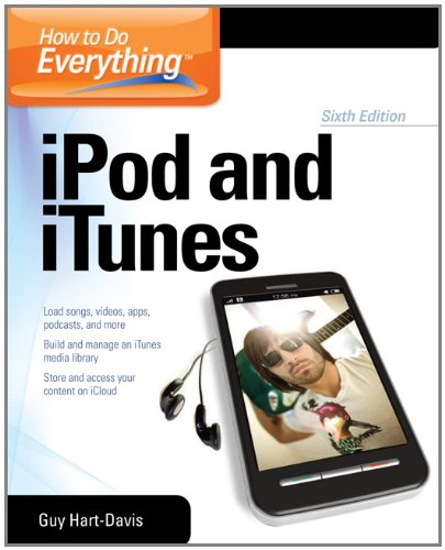 iPod and iTunes  6th 2012 edition cover