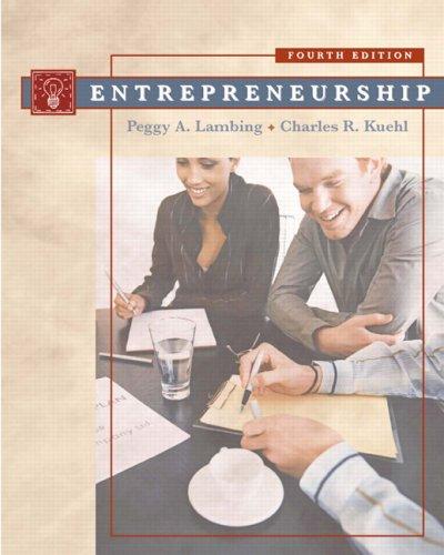 Entrepreneurship  4th 2007 (Revised) edition cover