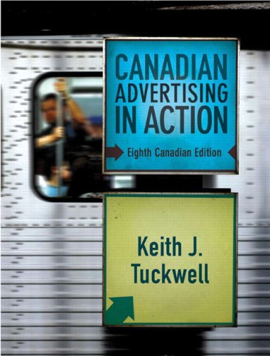 Canadian Advertising in Action  8th 2009 edition cover