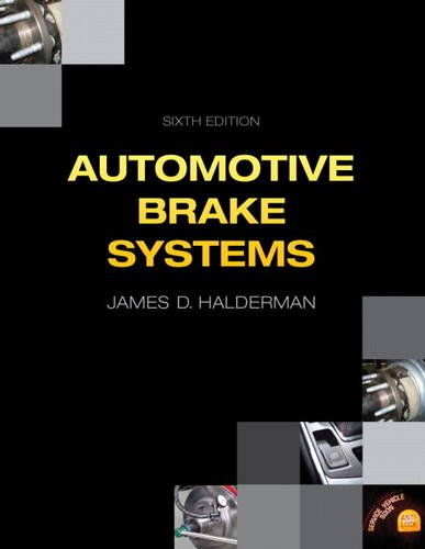 Automotive Brake Systems  6th 2014 edition cover