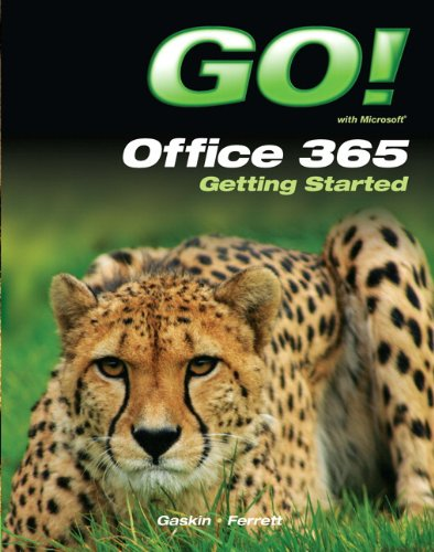 GO! with Office 365 Getting Started   2013 edition cover