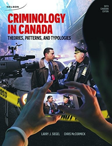 CRIMINOLOGY IN CANADA                   N/A 9780176531744 Front Cover