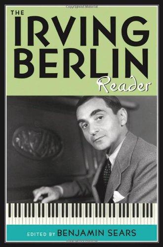Irving Berlin Reader   2012 edition cover