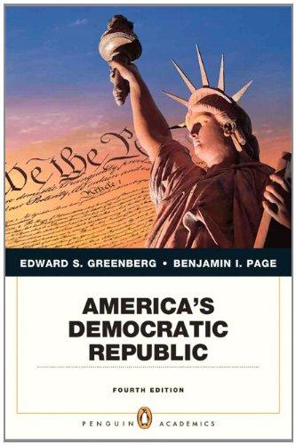 America's Democratic Republic  4th 2011 (Revised) edition cover