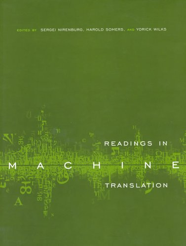 Readings in Machine Translation   2003 9780262140744 Front Cover