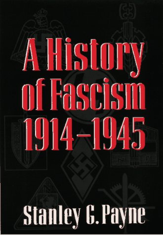History of Fascism, 1914-1945   1995 edition cover