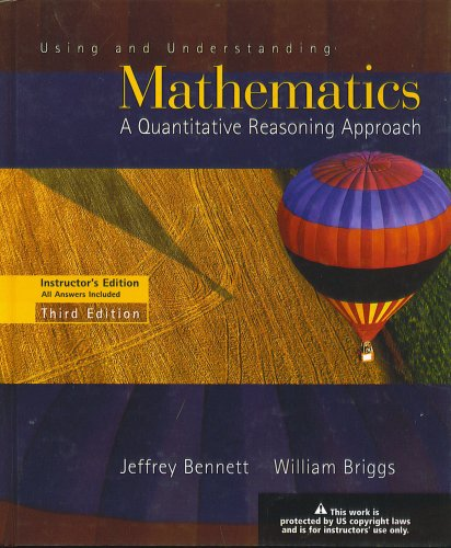 USING+UNDERSTANDING MATH. >INS 3rd 2005 9780321227744 Front Cover