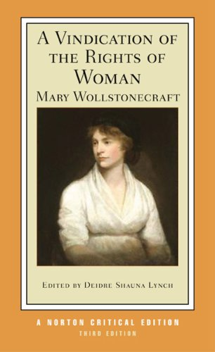 Vindication of the Rights of Woman  3rd 2009 edition cover