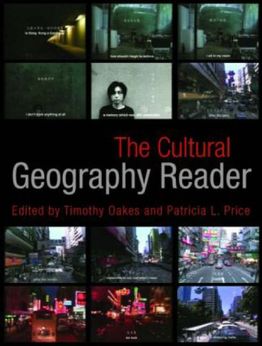 Cultural Geography Reader   2008 edition cover