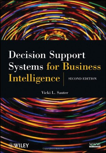 Decision Support Systems for Business Intelligence  2nd 2010 edition cover